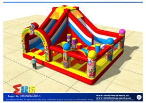 Circus Themed Inflatable Castle pictures & photos