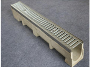 High Quality U-Type Polymer Concrete Rain Gutter pictures & photos