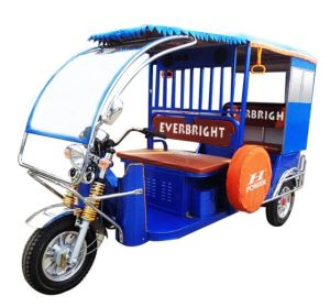 Newest Electric Three Wheel Auto Passenger Rickshaw Tricycles pictures & photos