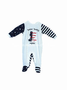 Polyester Velvet Romper for Infant pictures & photos