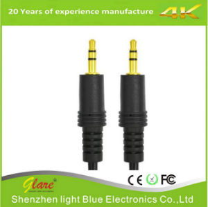 3.5mm Male to Male Stereo Audio Cable pictures & photos