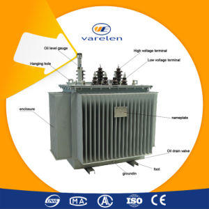 50~8000kVA Three Phase Step up Oil- Immersed Power Transformer pictures & photos