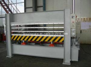 160 Tons 3 Layers Door Hot Press Machine pictures & photos