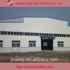 Design Space Frame Large Span Prefabricated Steel Structure Warehouse pictures & photos