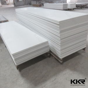 Kingkonree 6mm 8mm 100% Pure Acrylic Solid Surface pictures & photos