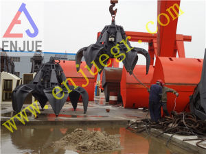 Electric Hydraulic Orange Peel Grab for Rock pictures & photos