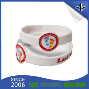 OEM Logo Multicolor Fashion Wristbands Rubber Silicone Bracelet pictures & photos