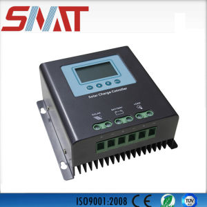 Hot Selling! 30A 40A 60A High Quality PWM/MPPT Solar Charge Controller with LCD Display pictures & photos