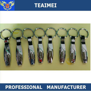 Promotional New Metal Customized Logo Brand Car Keychain pictures & photos