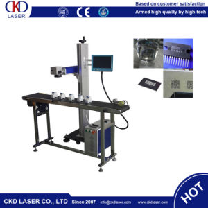 Hot Sale Online Flying Fiber Laser Engraver for Metal and Plastic pictures & photos