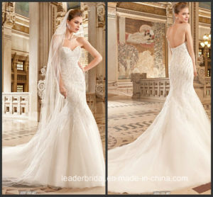 Beading Wedding Dress Sweetheart Mermaid Bridal Wedding Gown Ld1163 pictures & photos