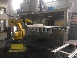 Automotive Upholstery PU Sandwich Panel Production Line pictures & photos