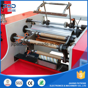 Three Shaft Automatic Aluminium Foil Rewinding Machine pictures & photos