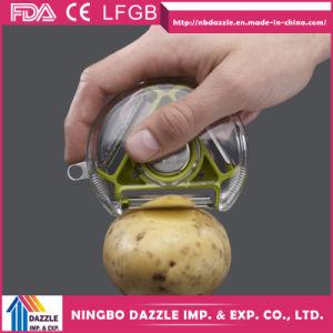 Professional Wide Vegetable Peeler Spiral Restaurant Potato Peeler pictures & photos
