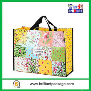 Beach Bag, Made of Woven PE Fabric, Perfect for Shopping, Files/Documents, and Beach Towels pictures & photos