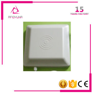 RJ45 Four-Port Fixed Long Range Smart Card/Tag UHF RFID Reader pictures & photos