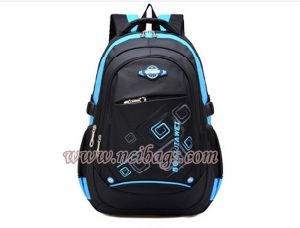 2017 Wholesale Polyester Sports School Book Backpack Bag