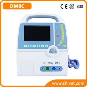 Veterinary 7′′ Portable Defibrillator Monitor (DM8C) pictures & photos