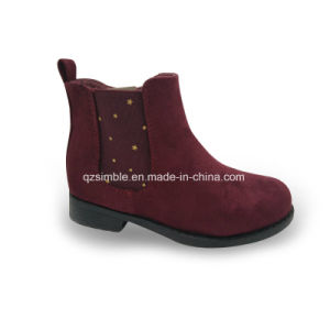 Fashiom PU Ankle Boots for Children to Wear pictures & photos