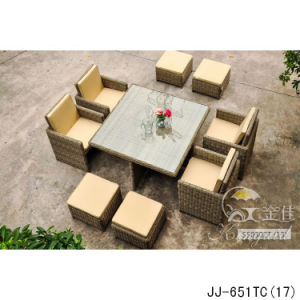 PE Rattan Furniture, Outdoor Furniture Jj-651 pictures & photos