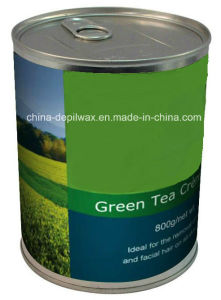 800g Can Soft Depilatory Wax Green Apple Flavor Wax pictures & photos