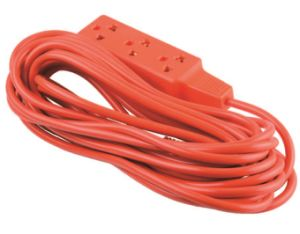 Mexico Style 3 Outlets Utility Extension Cord, Power Cord pictures & photos