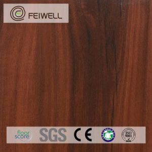 Wood Grain Living Room Cheap PVC Floor Covering pictures & photos