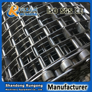 Stainless Steel Horseshoe Chain Conveyor Belt /Conveyor Flat Wire Belting/Honeycomb Wire Mesh Belt Conveyor pictures & photos