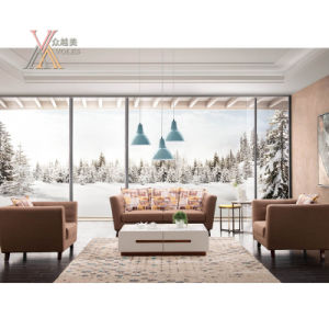 Living Room Modern Fashion Fabric Sofa Set (993A)