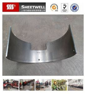 Rounded Thick Steel Metal Sheet Part pictures & photos