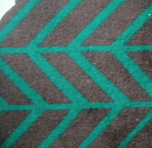 Warp Knitting Print Super Soft Polyester Velvet Fabric pictures & photos