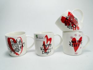 Custom 12 Oz Contracted Style Ceramic Mug pictures & photos