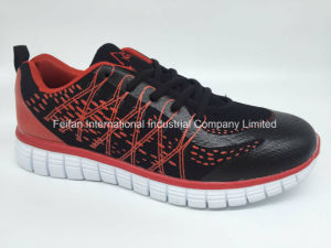 Best Seller Cheap Men Athletic Sport Shoes Running Shoes Tennis Shoes FF170604) pictures & photos