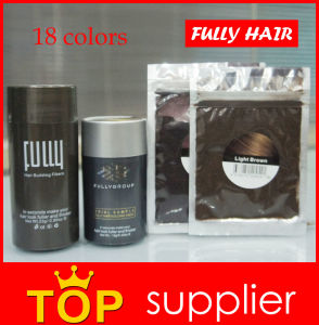 Hair Care Product for Balding Fully Keratin Hair Building Fiber Powder pictures & photos