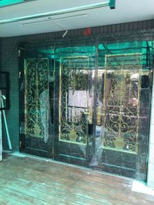 Color Stainless Steel Door (S-3026) pictures & photos