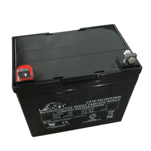 12V 33ah VRLA Storage Battery Solar Battery with Ce Approved pictures & photos