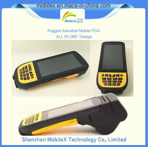 Rugged PDA with Barcode Scanner, Wireless Data Collector pictures & photos