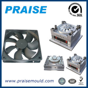 Plastic Injection Mold Making Exhaust Fan Shell Cover Moulding Part pictures & photos