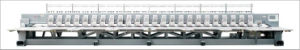 24 Head 6 Colors Flat Embroidery Machine pictures & photos