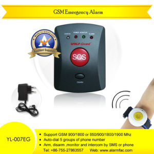 Elderly Protection GSM Personal Alarm Wireless with Panic Button pictures & photos