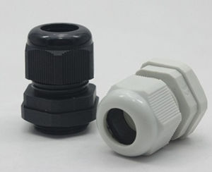 Plastic Waterproof Adjustable 3.5 - 13mm Cable Gland Joints, Pg7, Pg9, Pg11, Pg13.5, Pg16, pictures & photos
