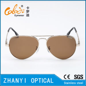 Fashion Colorful Metal Sunglasses for Driving with Polaroid Lense (3025-C2) pictures & photos