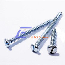 DIN7971-Slotted Pan Head Tapping Screw pictures & photos