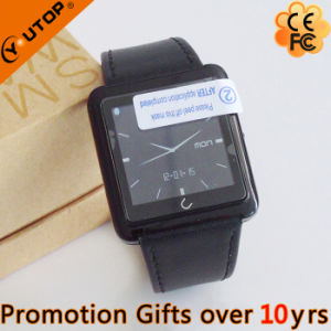 Business PU+Metal Smart Watch for Mobile iPhone (YT-WSD-07) pictures & photos