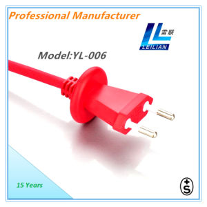 10A 250V Electrical Power Cord +S Certificate Approved Factory Offer pictures & photos