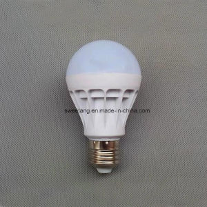 LED Plastic Bulb with E27 E14 Holder in 220V 3W pictures & photos