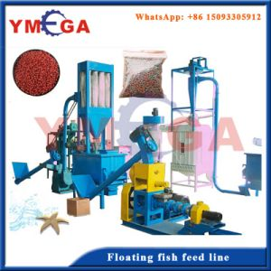 China Manufacturer Dog Cat Fish Feed Processing Line pictures & photos