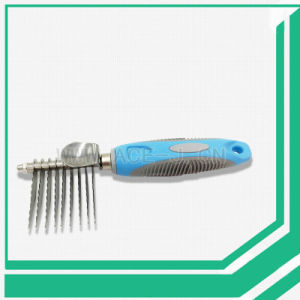 Wholesale Stainless Steel Dog Cat Combs Pet Hair Remover Grooming Brush pictures & photos