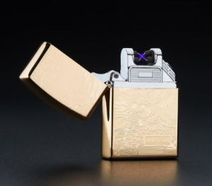 USB Tesla Dual Arc Pulse Rechargeable Lighter pictures & photos