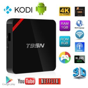 Android IPTV TV Box T95n S905X Android 5.1 TV Box pictures & photos